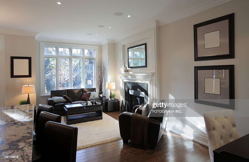 Brand New North American Home : Stock Photo