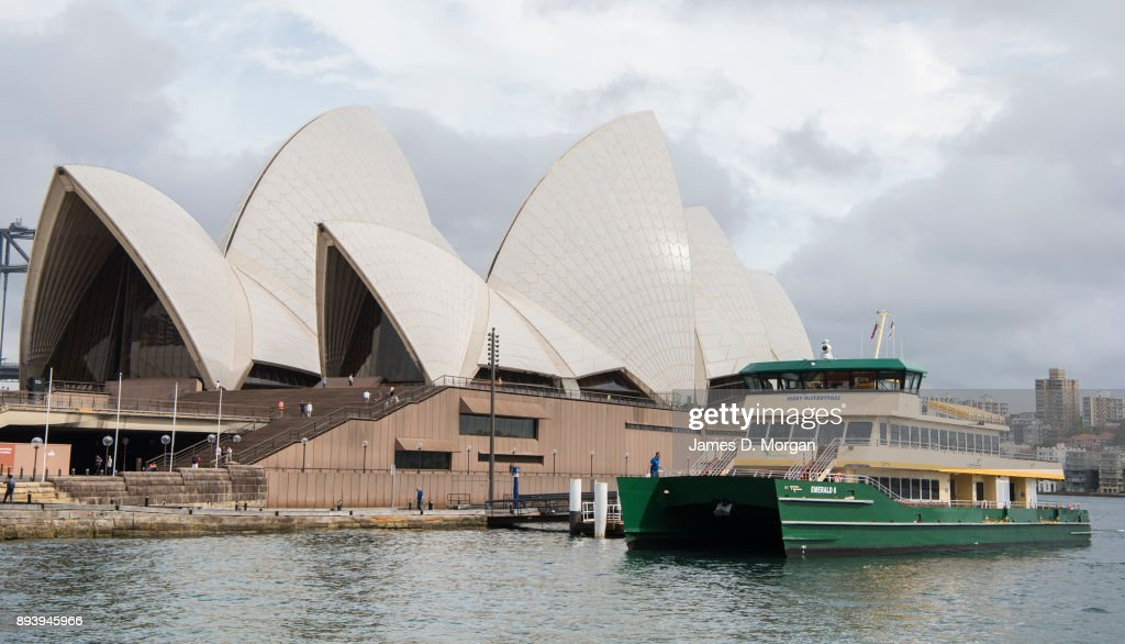 Sydneysiders Get First Of New Vessel Ferry McFerryface