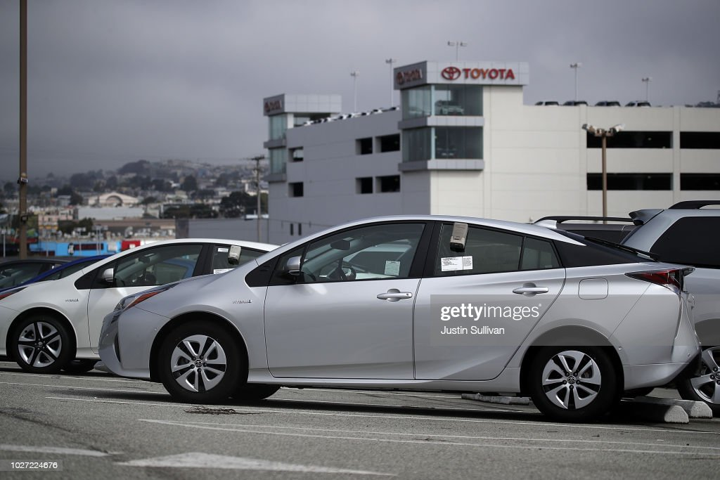 Good Brand New Toyota Prius Cars Are Displayed On A Sales Lot At City Toyota On  September