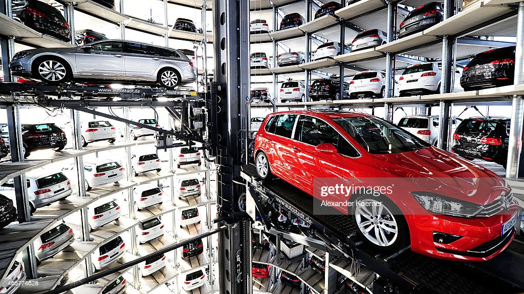 Volkswagen To Announce Annual Results : News Photo