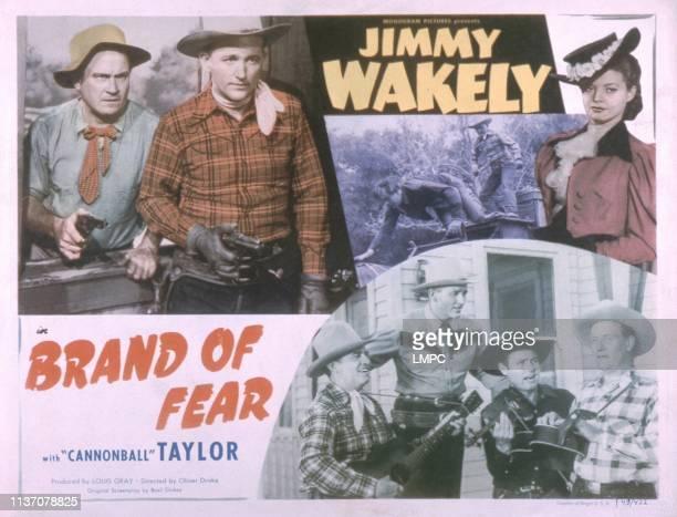 Dub Taylor Jimmy Wakely Gail Davis 1949