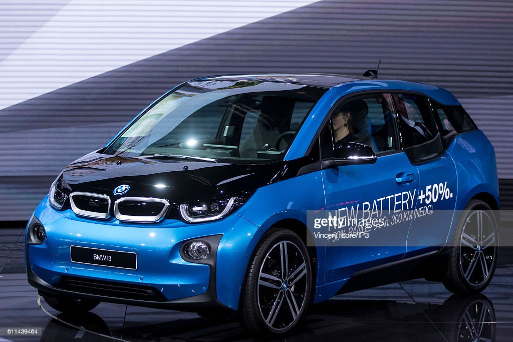Bmw Brand Presents Its Latest Bmw I3 Electric Car During The Press