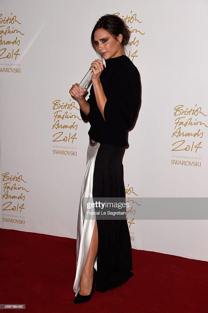British Fashion Awards - Winners Room : News Photo
