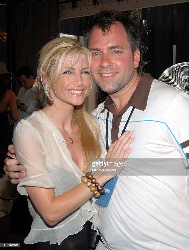 Brande Roderick and David Manning during LIVEStyle Entertainment Presents Hollywood Life Lounge at Cabana Club at Cabana Club in Hollywood, California, United States.