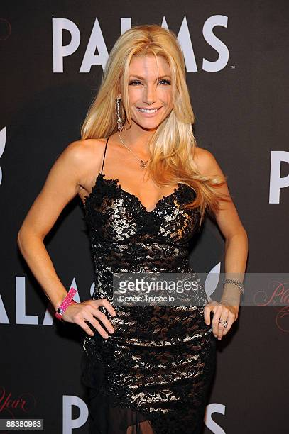 Brande Roderick arrives at Playboy's 50th Annual Playmate of the Year Announcement and Celebration at Palms Hotel Casino on May 2 2009 in Las Vegas...