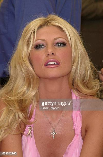 Brande Roderick at the Playboy's 2001 Playmate of the Year luncheon held at the world famous Playboy Mansion