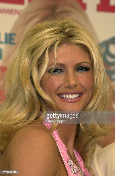Brande Roderick at the press event announcing her Playmate of the Year