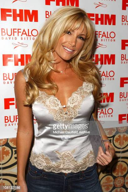 Brande Roderick during 2004 FHM Buffalo Jeans Sponsor Party at The Spider Club in Hollywood California United States