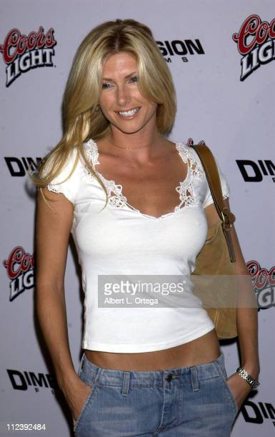 Brande Roderick during Below Premiere at Arclight Theater in Hollywood California United States