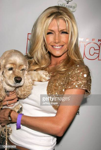 Brande Roderick during In Touch Weekly Presents Pets and Their Stars Unleashed at Cabana Club in Los Angeles California United States