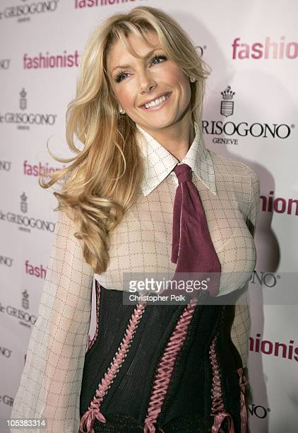 Brande Roderick during Launch Party For New Book Fashionistas hosted by producer Christine Peters at The Fenix Resturant The Argyle Hotel in...