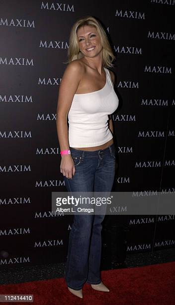 Brande Roderick during Live Performance by The Pussycat Dolls Hosted by Maxim Magazine Arrivals at The Henry Fonda Theater in Hollywood California...