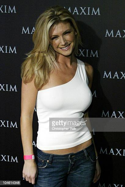 Brande Roderick during Maxim Magazine Heats Up LA With The Pussycat DollsArrivals at The Henry Fonda Theatre in Hollywood CA United States