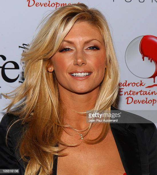 Brande Roderick during The First Annual Red Party To Benefit The Life Through Art Foundation at Private residence in Holmby Hills California United...