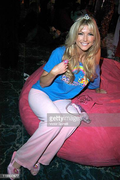 Brande Roderick during The Princess Diaries 2 DVD Pajama Ball Benefiting St Jude Children's Research Hospital at The Beverly Hilton Hotel in Beverly...