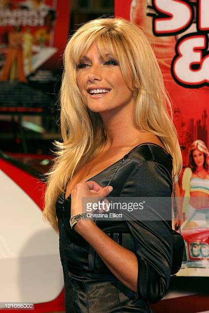 Brande Roderick during Warner Home Video Hosts Starsky Hutch DVD Release Party at Studio 54 at Studio 54 in Las Vegas Nevada United States
