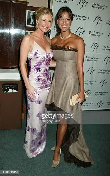 Brande Roderick wearing Ungaro and Eva La Rue in dress by Fusha