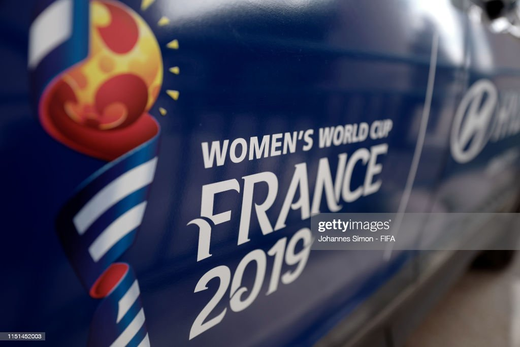 National Trophy Tour: Lyon - FIFA Women's World Cup France 2019 : News Photo