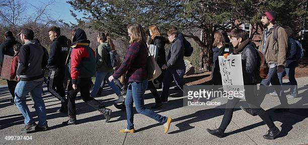 Brandeis University students who are occupying the administration building and the president's office to protest the lack of diversity on campus head...
