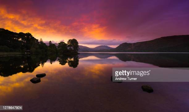 brandelhow sunset - sunset stock pictures, royalty-free photos & images