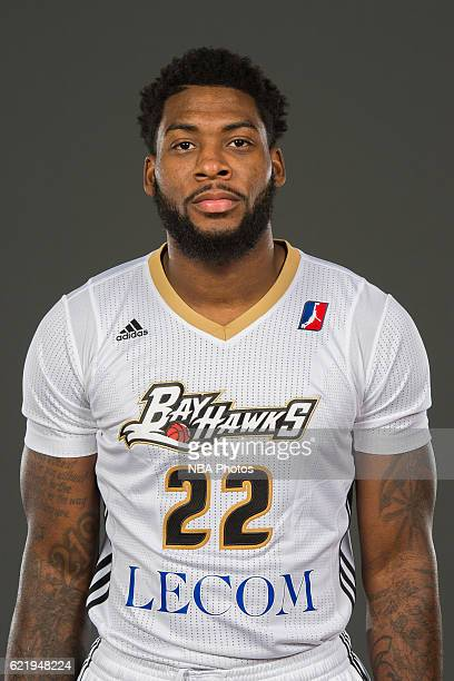 Branden Dawson poses for a photo during the Erie BayHawks media day at the LECOM Health and Fitness Center on November 7, 2016 in Erie, Pennsylvania....