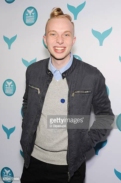 Branden Harvey attends The 7th Annual Shorty Awards on April 20 2015 in New York City