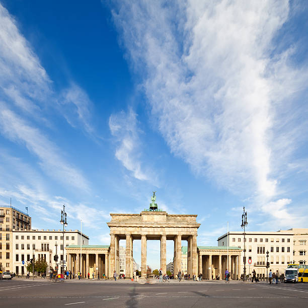 """Brandenburg Gate, Backview"""