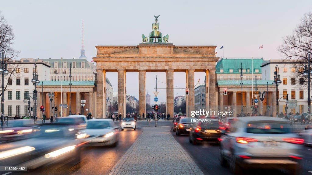 Brandenburg Gate - Berlin Germany : ストックフォト