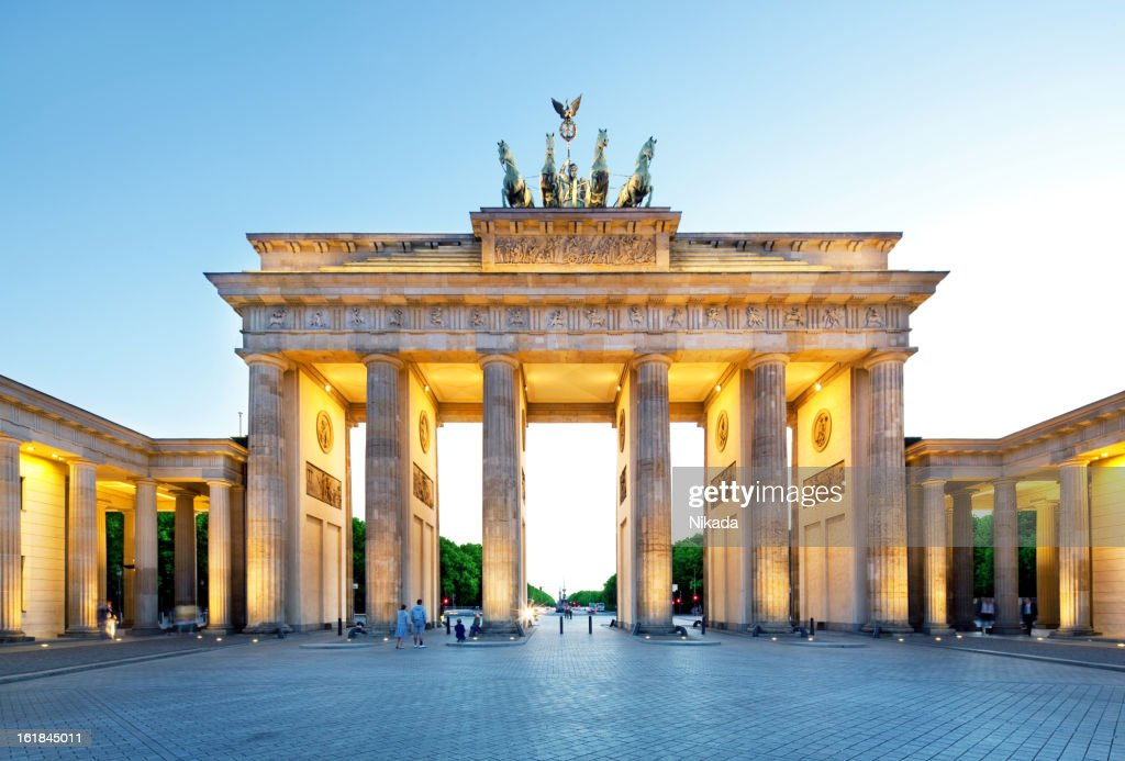 Brandenburg Gate, Berlin : Stock Photo