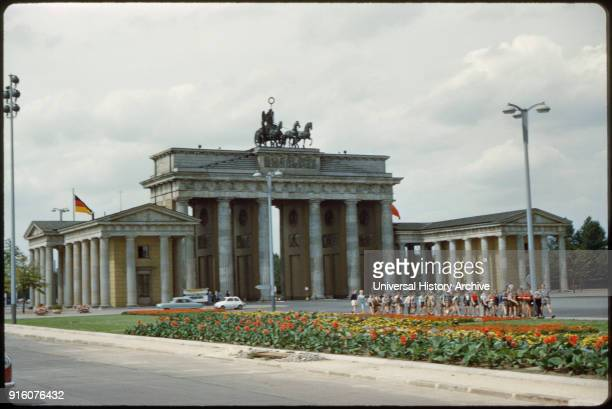 Brandenburg Gate East Berlin German Democratic Republic 1961