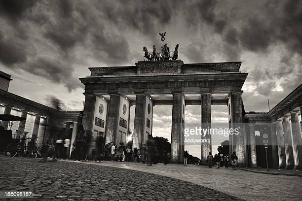 Brandenburger Tor In den Abend