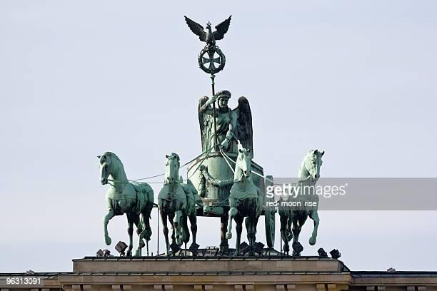 Brandenburg gate quadriga