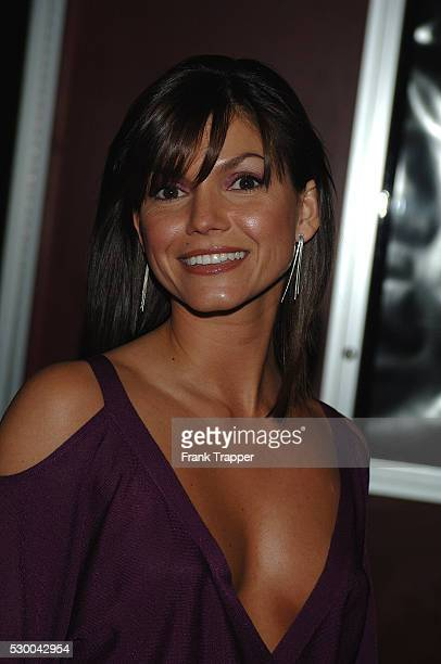 Brandi Andrews arrives at the screening of DreamWorks Pictures' The Ring Two
