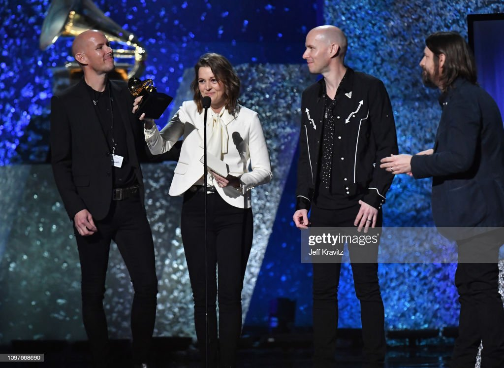 Brandi Carlile accepts Best American Roots Song for 'The