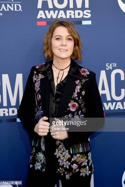 Brandi Carlile attends the 54th Academy Of Country Music Awards at MGM Grand Hotel Casino on April 07 2019 in Las Vegas Nevada