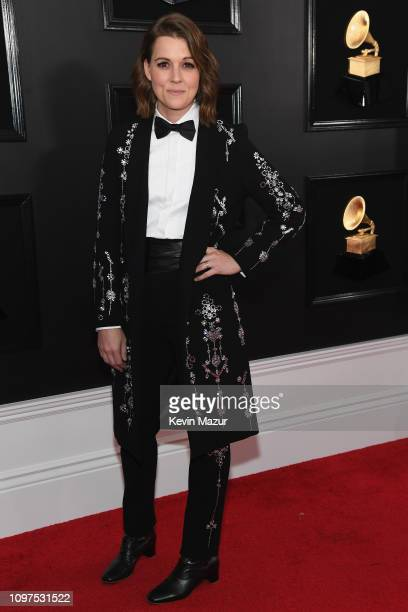 Brandi Carlile attends the 61st Annual GRAMMY Awards at Staples Center on February 10 2019 in Los Angeles California