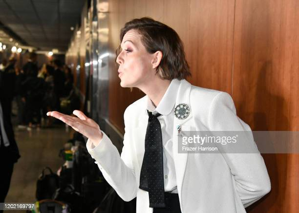 Brandi Carlile attends the 62nd Annual GRAMMY Awards at STAPLES Center on January 26 2020 in Los Angeles California