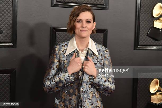 Brandi Carlile attends the 62nd Annual Grammy Awards at Staples Center on January 26 2020 in Los Angeles CA