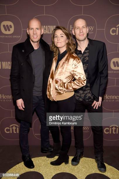 Brandi Carlile attends the Warner Music Group PreGrammy Party in association with V Magazine on January 25 2018 in New York City