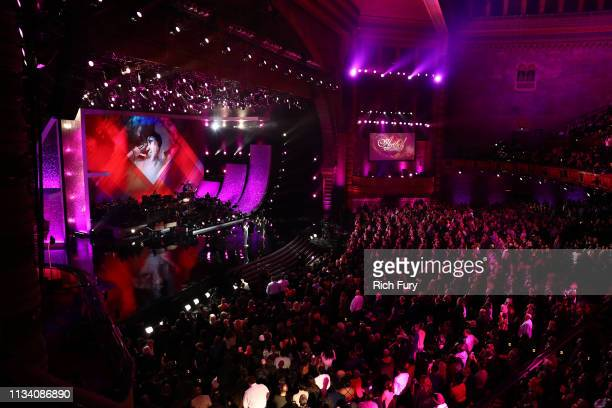 Brandi Carlile Fantasia Andra Day and Alessia Cara perform onstage at AllStar Lineup Pays Tribute At 'Aretha A GRAMMYCelebration For The Queen Of...