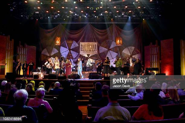 Brandi Carlile Irma Thomas Courtney Marie Andrews Tanya Blount and Michael Trotter Jr of The War and Treaty and Ann McCrary of The McCrary Sisters...