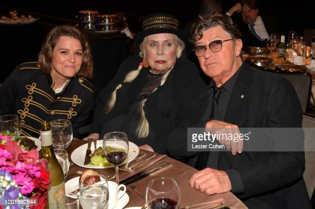 """Brandi Carlile, Joni Mitchell, and Robbie Robertson attend the Pre-GRAMMY Gala and GRAMMY Salute to Industry Icons Honoring Sean """"Diddy"""" Combs on..."""