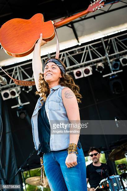 Brandi Carlile performs at the 11th annual Nelsonville Music Festival n May 31 in Nelsonville Ohio The festival is held on Robbins Crossing historic...