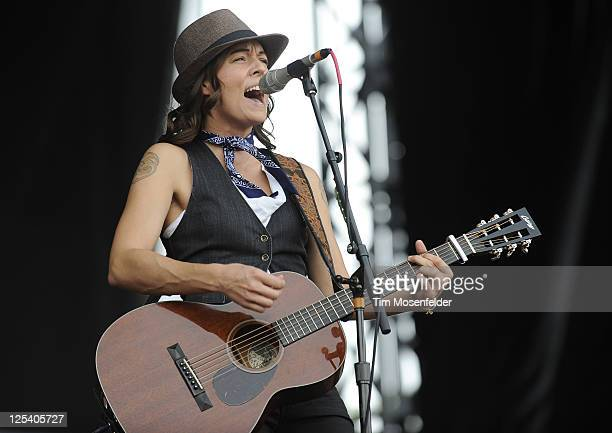Brandi Carlile performs at the Austin City Limits Music Festival Day One at Zilker Park on September 16 2011 in Austin Texas