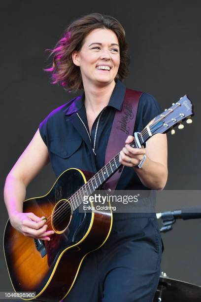 Brandi Carlile performs on day 2 of Austin City Limits Festival at Zilker Park on October 6 2018 in Austin Texas