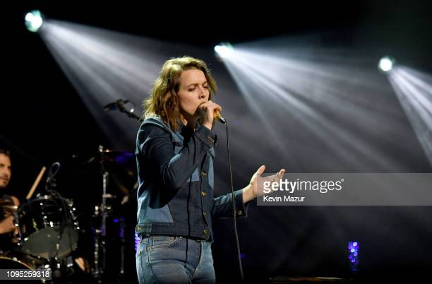 Brandi Carlile performs onstage during I Am The Highway A Tribute To Chris Cornell at The Forum on January 16 2019 in Inglewood California