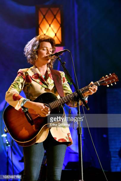 Brandi Carlile performs onstage during the 2018 Americana Music Honors and Awards at Ryman Auditorium on September 12 2018 in Nashville Tennessee
