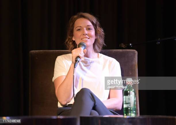 Brandi Carlile speaks during the Changing the Conversation with Brandi Carlile panel discussion on September 12 2019 in Nashville Tennessee