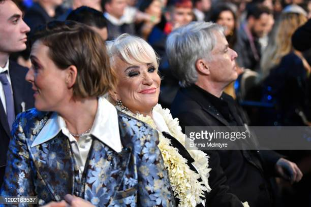 Brandi Carlile Tanya Tucker and Craig Dillingham attend the 62nd Annual GRAMMY Awards at STAPLES Center on January 26 2020 in Los Angeles California