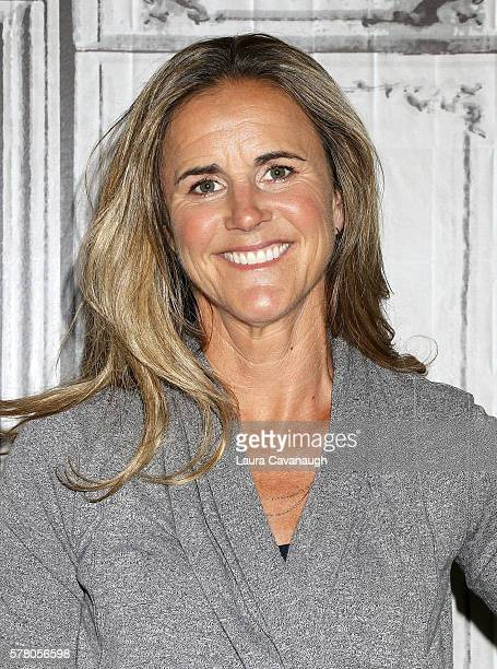 Brandi Chastain attends AOL Build Speaker Series to discuss the Olympic Games at AOL HQ on July 20 2016 in New York City